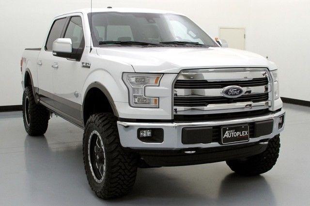 Lifted 2015 F150 >> 15 Ford F150 King Ranch Skyjacker Lift Fuel Wheels