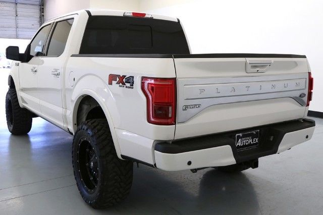 15 Ford F150 Platinum 6 Inch Pro Comp Lift 20 Inch Fuel ...