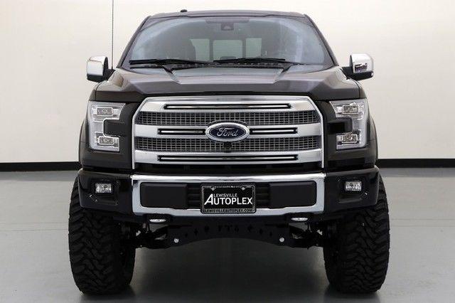 15 Ford F150 Platinum 7 Inch FTS Lift 22 Inch Fuel Wheels V8