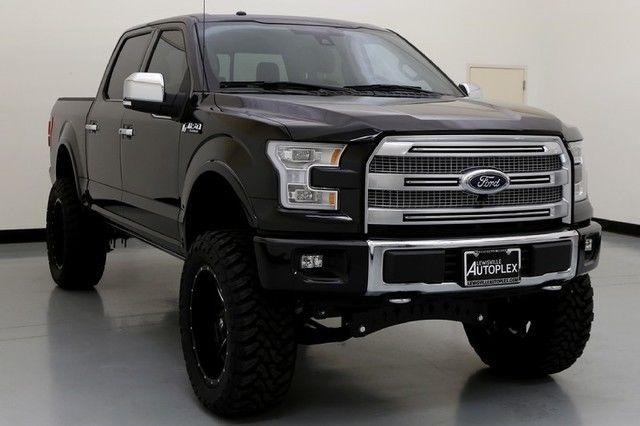 15 ford f150 platinum 7 inch fts lift 22 inch fuel wheels v8. Black Bedroom Furniture Sets. Home Design Ideas