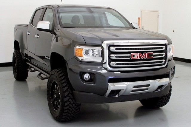 15 gmc canyon slt bds lift fuel wheels leather. Black Bedroom Furniture Sets. Home Design Ideas