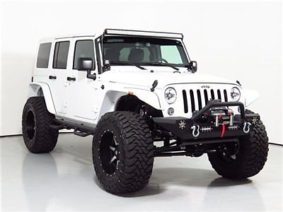 15 Jeep Wrangler Unlimited Lifted 38in Toyo Tires 2oin