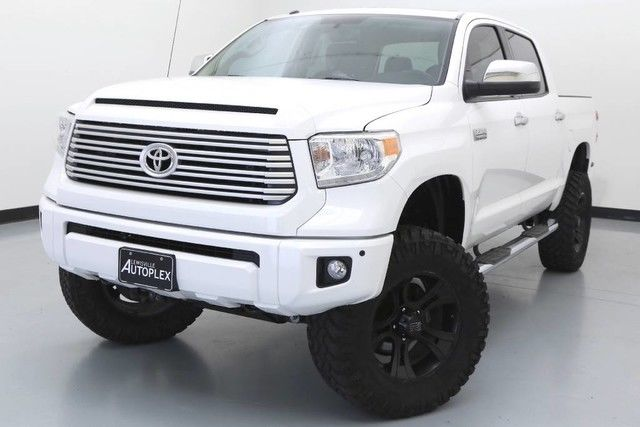 15 Toyota Tundra Platinum 4x4 6 Inch Bds Lift 20 Inch Xd