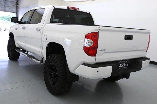 15 Toyota Tundra Platinum 4x4 6 Inch Bds Lift 20 Inch Xd