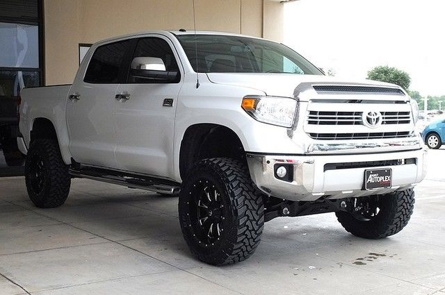 How Much Is A Lift Kit >> 15 Tundra 1794 4x4 7 Lift 20 Fuel Wheels Brown Wheels
