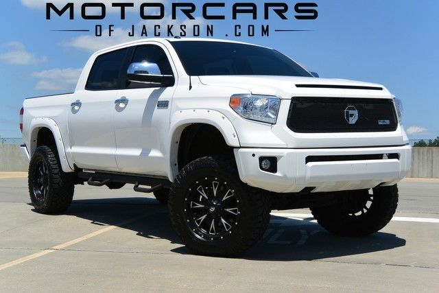 15 Tundra Crewmax Platinum 4wd Bds Lift Fuel Wheels V8