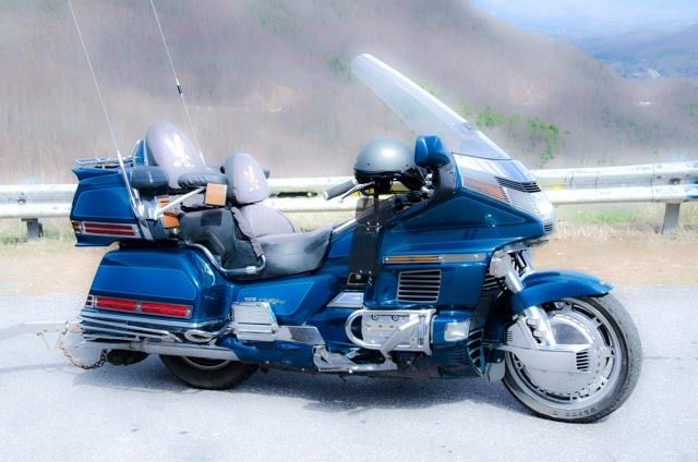 1500 Honda Goldwing Special Edition W   Matching Trailer Also Heated Grips