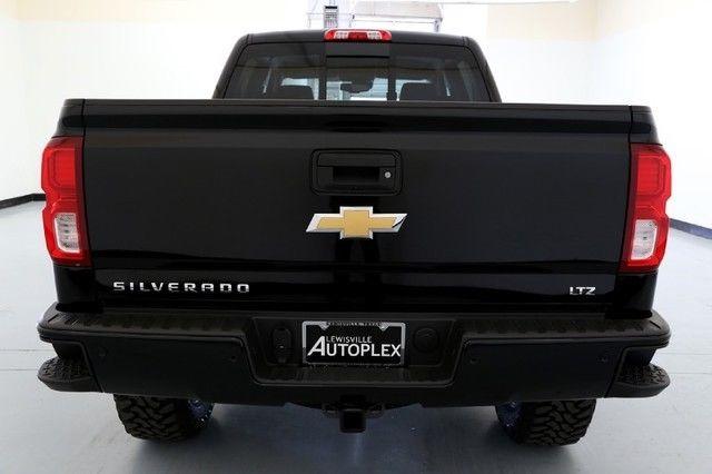 Chevy Silverado Ltz Inch Pro Comp Lift Inch Fuel Wheels Navigation