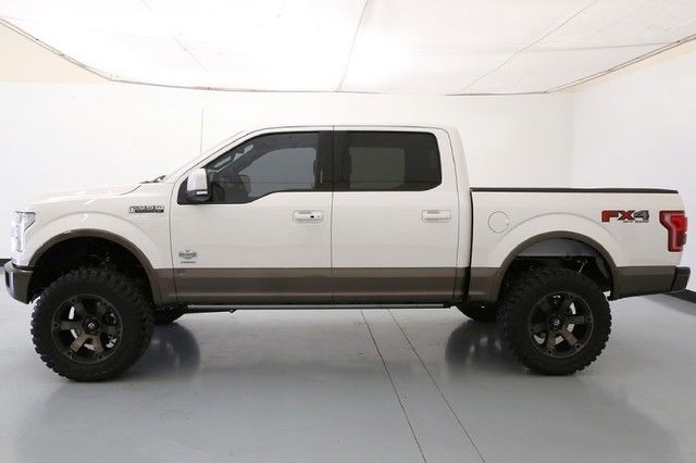 16 Ford F150 King Ranch 6 Inch Pro Comp Lift 20 Inch Fuel