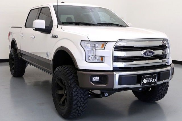 16 Ford F150 King Ranch 6 Inch Pro Comp Lift 20 Inch Fuel ...