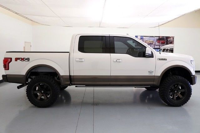 F150 4 Inch Lift >> 16 Ford F150 King Ranch 6 Inch Pro Comp Lift 20 Inch Fuel Wheels Navigation