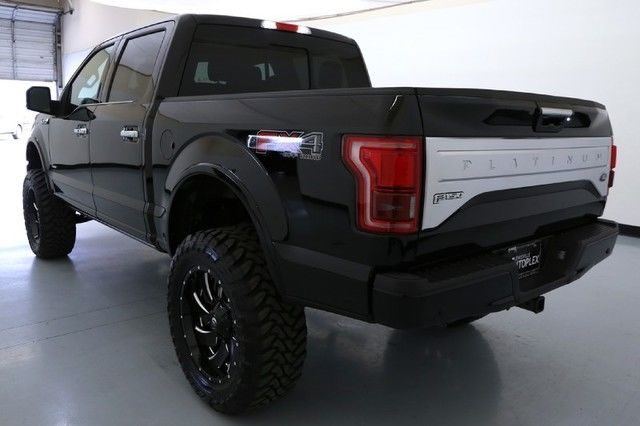16 Ford F150 Platinum 6 Inch FTS Lift 22 Inch Fuel Wheels ...
