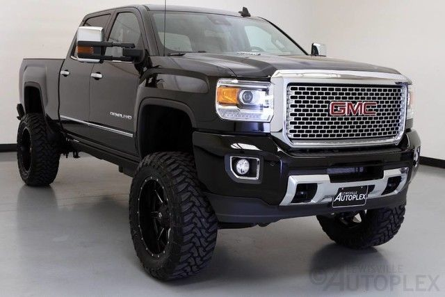 16 gmc sierra 2500hd denali 7 inch fts lift 22 inch fuel. Black Bedroom Furniture Sets. Home Design Ideas