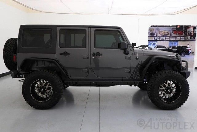 16 Jeep Wrangler Unlimited 4 Inch Lift 20 Inch Grid Wheels 4x4