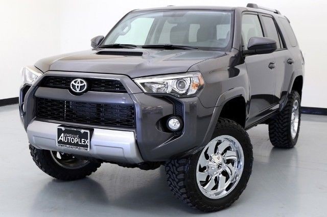 16 toyota 4runner trail 4x4 level kit 20 inch fuel wheels. Black Bedroom Furniture Sets. Home Design Ideas