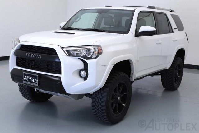 16 toyota 4runner trd pro 3 inch level kit 20 inch fuel. Black Bedroom Furniture Sets. Home Design Ideas