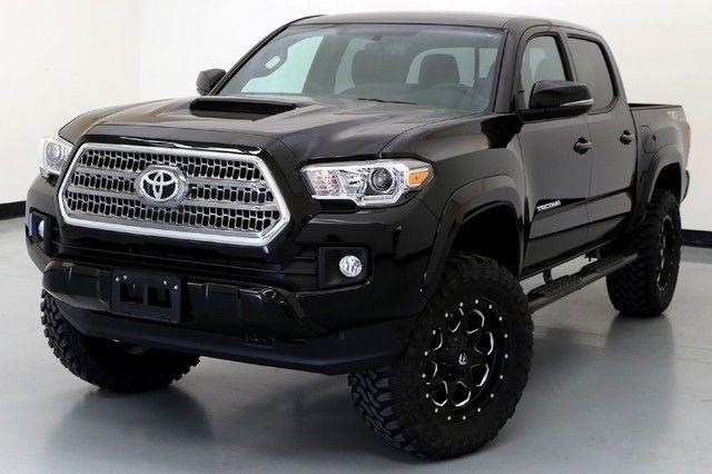 16 Toyota Tacoma Trd Sport Level Kit 18 Inch Fuel Wheels Navigation