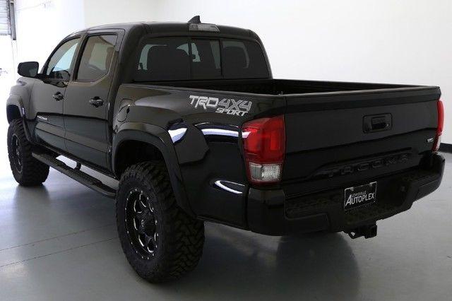 16 toyota tacoma trd sport level kit 18 inch fuel wheels navigation. Black Bedroom Furniture Sets. Home Design Ideas