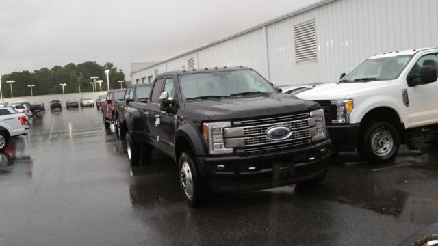 Ford F 450 2017 Technical Specifications