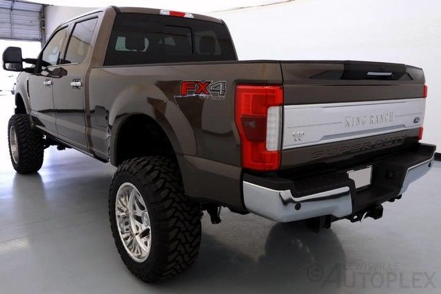 17 Ford F250 King Ranch 6 Inch FTS Lift 22 Inch American ...