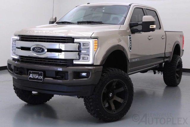 17 ford f250 king ranch 6 inch fts lift 22 inch fuel wheels navigation. Black Bedroom Furniture Sets. Home Design Ideas