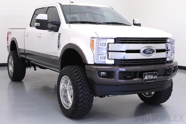 Used F 250 Super Duty >> 17 Ford F250 King Ranch 7 Inch Full Throttle Lift 22 Inch American Force Wheels