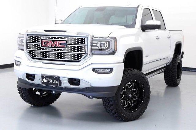 2017 Gmc Denali Truck >> 17 GMC Sierra Denali 6 Inch Lift 20 Inch Fuel Wheels Navigation Sunroof