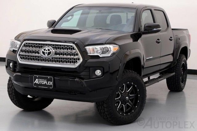 4 Inch Leveling Kit >> 17 Toyota Tacoma TRD Sport 18 Inch Fuel Wheels Pro Comp Level Kit Navigation