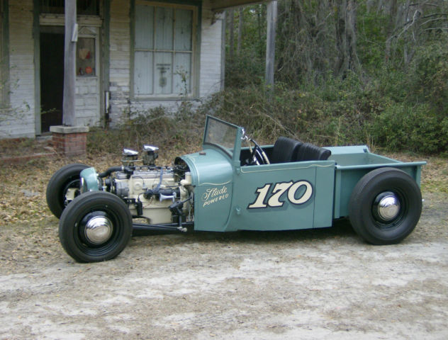 1928 Ford Model A Hot Rod Underslung Roadster Pickup