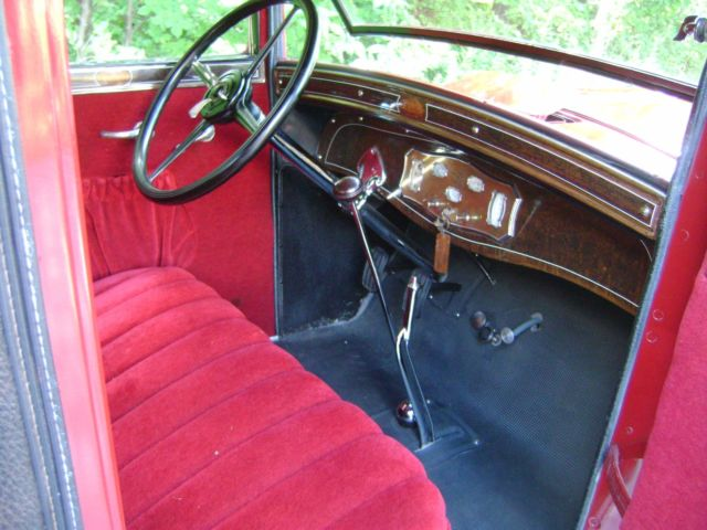 1928 REO FLYING CLOUD RUMBLE SEAT COUPE