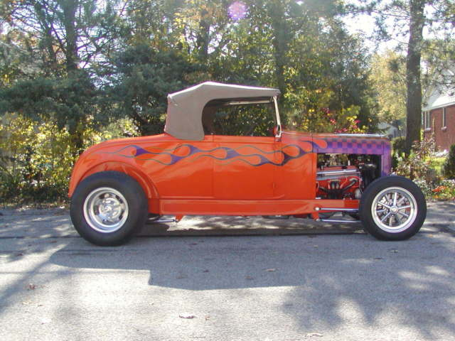 1929 ford model a roadster street hot rod hiboy highboy. Black Bedroom Furniture Sets. Home Design Ideas