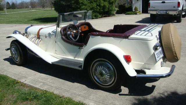 1929 Mercedes Benz Gazelle Convertible Replica Kit Car Vw Engine