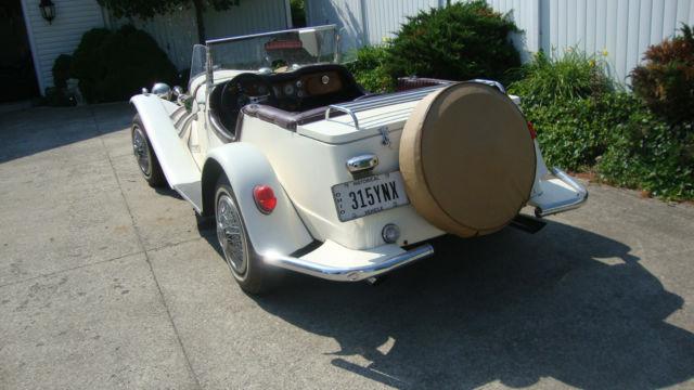 1929 mercedes benz gazelle convertible replica kit car vw for Mercedes benz car care kit