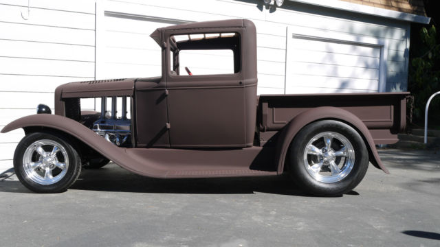 1931 Ford Model A Pickup Truck 302 Hilborn Efi Aod Street