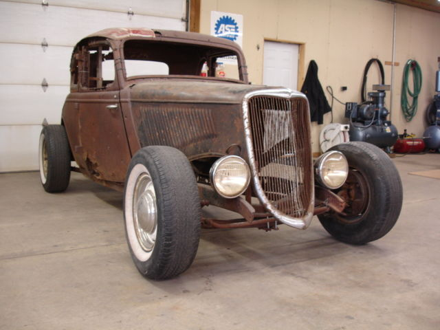 1933 1934 ford steel henry 5 window coupe project hot rod for 1934 ford 3 window coupe project for sale
