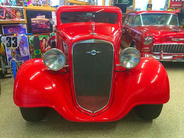 1934 Chevrolet 409 Ss 3 Window Coupe Hot Rod Rat Chop Top