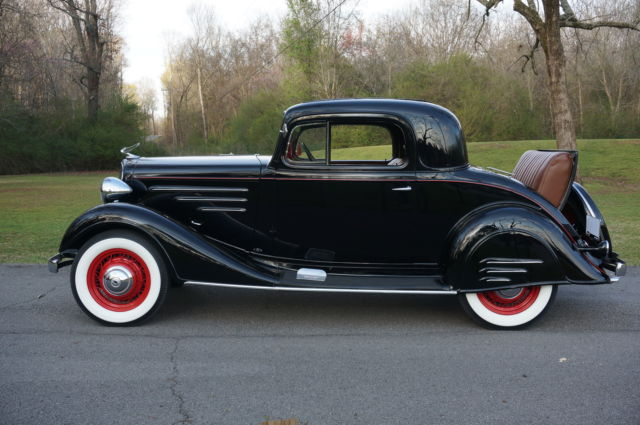 1934 Chevrolet Master 3 Window Coupe ALL STEEL Original Rumble Seat