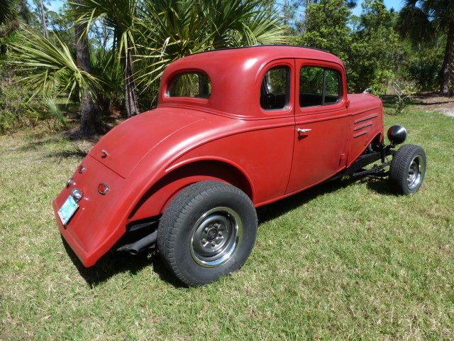 1934 Chevrolet Master Coupe 5 window high boy hot rod Steel car