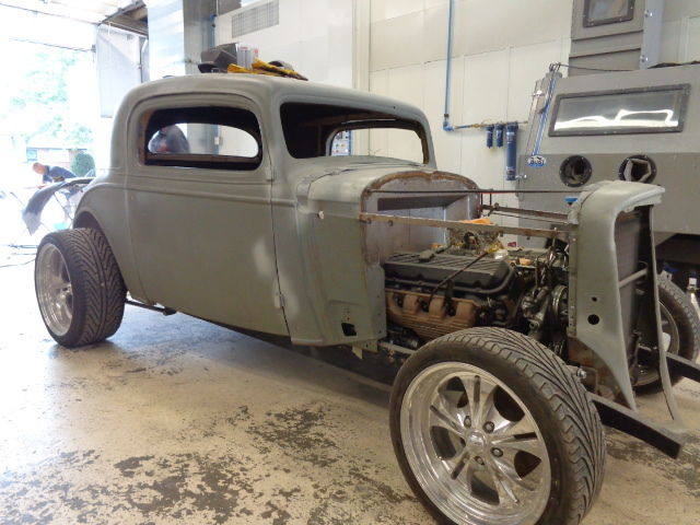 1934 Chevy 3 Window Coupe Steel Project