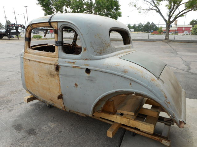 1934 Ford 5 Window Coupe Body Project 1932 33 Rat Hot