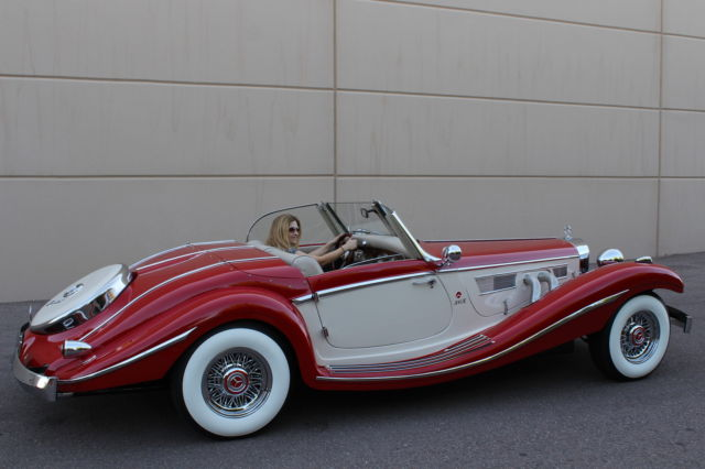 1934 mb 500k built in 1986 on ford mustang oldtimer for 1936 mercedes benz 540k replica