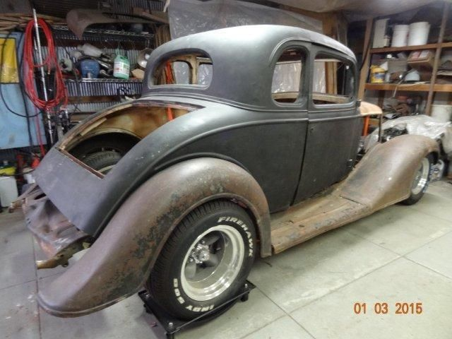 1935 chevy 5 window coupe project