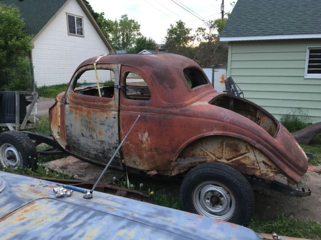 1935 Ford 5 Window Coupe Project 1936 35 36
