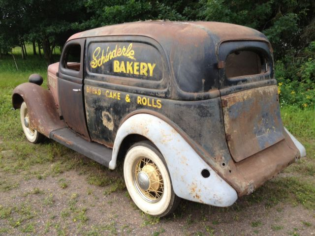 1935 Ford Sedan Delivery Project Panel Truck