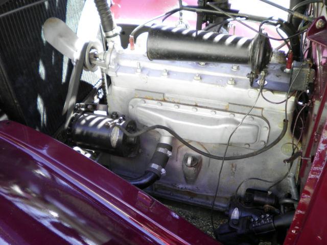 1935 Hudson Terraplane 4 Door Sedan 6 Cylinder 33 34 36
