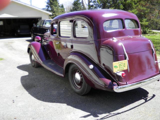 1935 hudson terraplane 4 door sedan 6 cylinder 33 34 36 for 1935 ford 4 door sedan