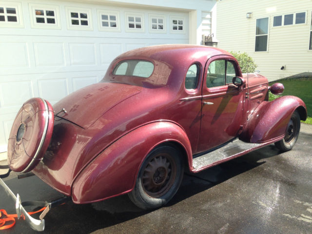 1936 Chevrolet/Chevy Business Coupe 5 Window Master Deluxe *Video*