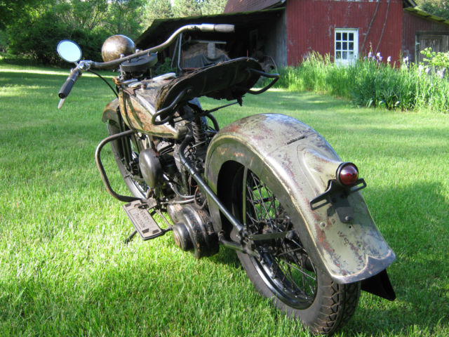 1936 Harley Davidson RLD Flathead 45 Barn Find with ...