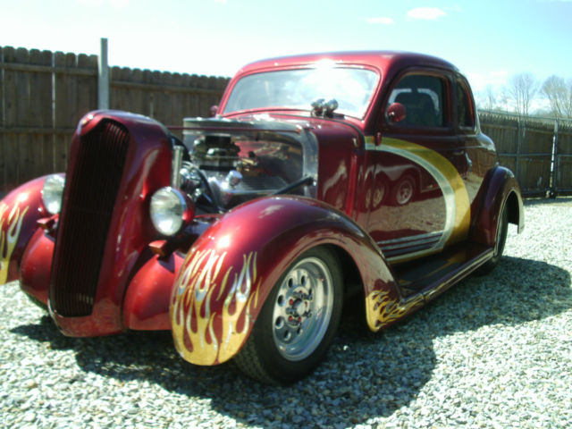 1936 Plymouth 5 Window Coupe Pro Street Hot Rod
