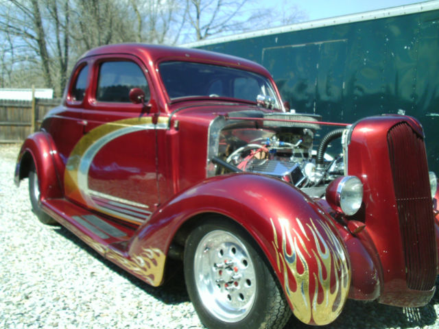 1936 plymouth 5 window coupe pro street hot rod for 1931 plymouth 3 window coupe